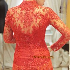 detail model belakang yang cantik #Vera Kebaya