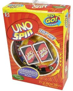 The Playful Otter: UNO Spin TO GO