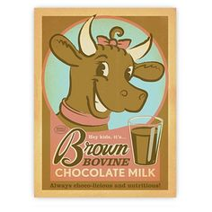 Brown Bovine – A2 from Americanflat Classics - R199 (Save 0%)