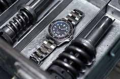 """Unimatic Modello Uno U1-A Watch Review -by Matt Smith-Johnson- on aBlogtoWatch """"Launching with the fittingly named Unimatic Modello Uno, this Italian micro-brand dive watch was something that stood out immediately for me with its minimalistic and utilitarian design - and somewhat mysterious origin… I say mysterious because if you visit their webpage, you'll be greeted by nothing more than a handsome picture of the Unimatic Modello Uno, some technical specifications, and a button to…"""