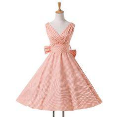 Vintage Retro Pin-Up Swing Polka Dot Tea Rockabilly Dress  (XS-XL). Vestiti  Anni 50Vestiti Per Festa In Stile ... ed82901b063