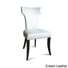 Klismos Leather Dining Chairs (Set of 2) - Overstock Shopping - Great Deals on Dining Chairs
