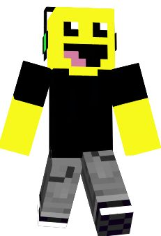 Happy Minecraft Skin