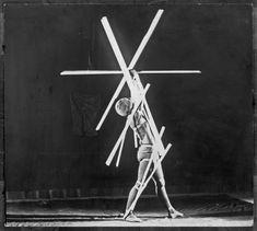 Oskar Schlemmer. Costumes for the Triadic Ballet, Bauhaus. 1927.