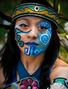 Gallery For > Apache Warrior Face Paint tattoos