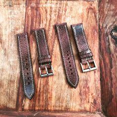 Pair of antique Buffalo straps off to collector in Hawaii  #watchuseek #watchoftheday #strapmakers #watchesofinstagram #horology #luxury  #dailywatch #wristshot #instawatch #timepiece #womw #watchaddict #watchnerd  #watchgeek #womw #watchcollector    #watchmania   #techsew #horween #customwatchstrap #customleatherwatchstrap  #rolex #patek #IWC #audemarspiguet #omega #dufranewatches