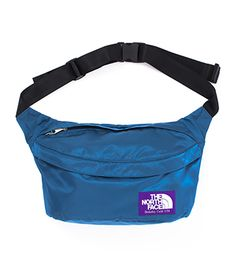 North Face Purple Label waist bag. A vintage nod with modern flavor.