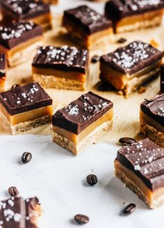 Espresso Caramel Shortbread cookies