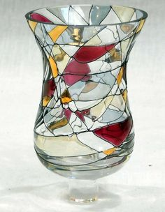 Candle Holder 99/cm Stake Decorative Outdoor Garden Tealight Candle Holder with Glass Flower Stud