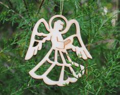 Ángel ornamentos Ángel de la guarda Ángel por DachshundDesignHouse