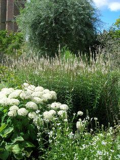 Famous white garden at Sissinghurst