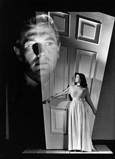Best Film Posters : Michael Redgrave and Joan Bennett in a promotional photo for Fritz Lang's &q Classic Film Noir, Classic Movies, Lauren Bacall, Cary Grant, Classic Hollywood, Old Hollywood, Gerard Philipe, Joan Bennett, Ghost In The Machine