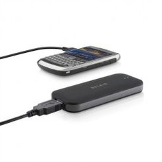 Belkin Power Pack 2000 for mobile phones, cameras and more. Recharge anywhere.