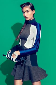 TEEN VOGUE SEPTEMBER 2012    Grand Prix: Equestrian-Inspired Fashion   Photographer: Sebastian Kim