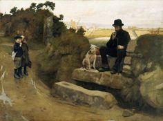 Norman Garstin (Irish teacher, art critic, journalist, Newlyn artist; 1847-1926) / La Escuela de Newlyn