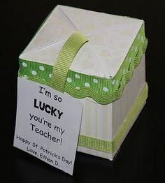 St. Patrick's Day gift for teacher