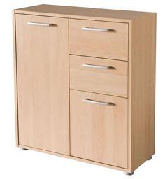 Cassettiera tre cassetti camera da letto ciliegio magnolia Art ...