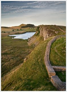 Steel Rig, Hadrian's Wall. History and in part a nation defined by the Romans.