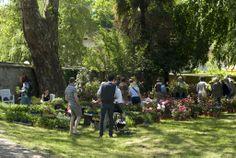 Evento Menta e Rosmarino 2013, parco della villa