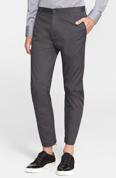 Lanvin Skinny Fit Cotton Biker Pants available at #Nordstrom