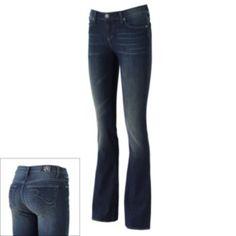 Rock & Republic Kassandra Faded Bootcut Jeans - Women's