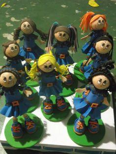 Bonecas em EVa Chiquititas