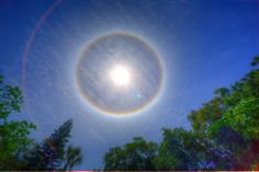 Cephas just called excited about this Sun Rainbow. Shot on April 16, 2014 at 12:45 in the afternoon!