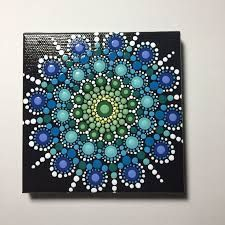 Image result for painted dot mandala