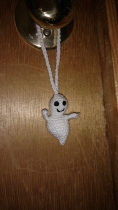 A ghost for Halloween Boo Crochet #amigurumi