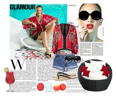 """""""Kimono from WE Fashion"""" by fash1hon ❤ liked on Polyvore featuring Steel 