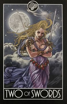 Card of the Day – 2 of Swords – Monday, August 3, 2020 – Tarot by Cecelia