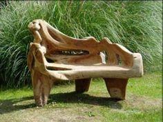 Great looking garden bench