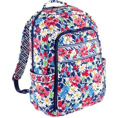 Vera Bradley Laptop Backpack ($109) ❤ liked on Polyvore
