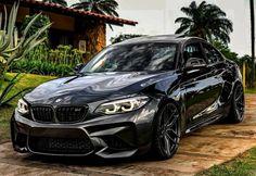BMW F87 M2 black Bmw M4, Bmw Autos, Carros Bmw, Street Racing Cars, Bmw Sport, Bmw Wallpapers, Best Luxury Cars, Sweet Cars, Bmw Cars