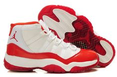 the latest 74410 af2e2 Air Jordan 11 Concord Red White