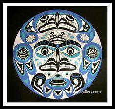 Wilson, Joseph M. 'Thunderbird Moon' - Northwest Coast Native Art