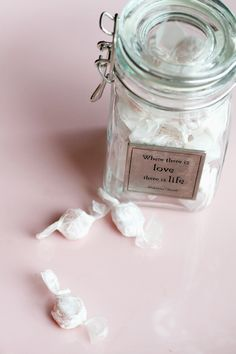 "DIY Mint-Ginger ""Preggo Pills""...ginger really helps with morning sickness. What a thoughtful gift for a Mommy to be!"