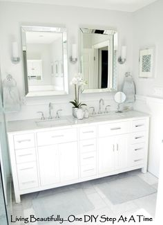 Find This Pin And More On Azienka Master Bathroom Double Vanity