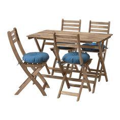 IKEA ASKHOLMEN Tisch+4 Stühle/außen