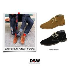 Weekend Style Inspo: Suede lace-up dress shoes are a fresh approach to men's fashion. Shop comfort with class: http://www.dswshoe.com.au/Catalogue/ListedProducts?departmentName=Men&SelectedPage=3&sort=Date