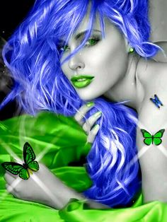 Butterfly beauty animation I made ? [Video] in 2020 Beautiful Gif, Beautiful Fairies, Animated Love Images, Avatar Picture, Steampunk Hairstyles, Spiritual Pictures, Splash Images, Butterfly Wallpaper, Beauty Full Girl