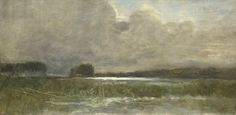 Jean-Baptiste-Camille Corot | The Marsh at Arleux | NG2135 | The ...