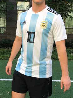 2018 Argentina Home Jersey  10 Messi XL ADIDAS World Cup Soccer Football NEW  Discount Price 67102a7eb