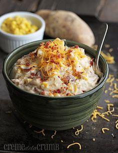 It's like a baked potato in chowder form! Get the recipe from La Creme de la Crumb.    - Delish.com