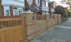 Stylish Front Garden Wall Designs   Google Search