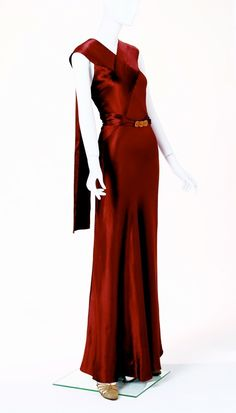 Evening Gown 1938, American
