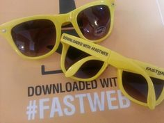 Con Fastweb si scaricano anche gli occhiali! #promosummer #glasses