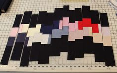 How to make a recycled quilt square, How to make the Joyal # 22 Block by Mamaka Mills Quilts, via Flickr