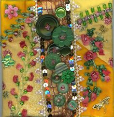 Nice job with buttons, beads and sequins
