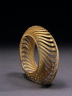 "Bracelet | Dennis Nahabetian. ""Spiral""."